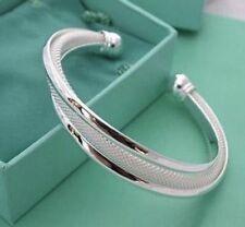 Silver Bangle Bling Bracelet Set New Uk Boho Boutique Festival Luxury Fashion