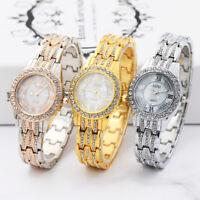 Luxury Diamond Ladies Watches Bracelet Metal Quartz Bracelet Elegant Women Watch