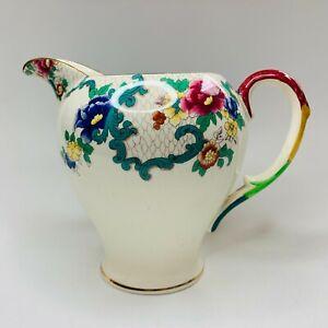 Royal Cauldon Hand Finished Victoria Vintage China Large Milk Jug