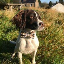 Handmade Dog Bow Ties / Dicky Bows for Dog Collars, Wool fabric.