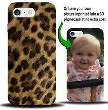 Pelle di leopardo stampa Telefono Custodia Cover Spot puntini Marks Leopardo Animale Pelliccia X468