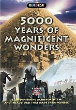 5000 Years of Magnificent Wonders (DVD, 6 DISCS) New in Manufacture Package