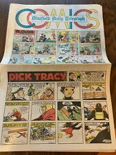 Bluefield Daily Telegraph Sunday Comics Jan 1-28 July 1-29 1973 Dick Tracy Henry