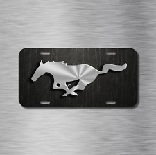 Mustang Pony Vehicle Front License Plate Auto Car NEW gt hatchback coupe