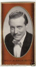 WOLF ALBACH-RETTY ACTEUR ACTOR  AUTRICHE AUSTRIA IMAGE CARD 30s