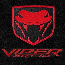 LLOYD Velourtex™ FLOOR MATS 2004-2006 Dodge Ram 1500 SRT-10 - Red logos/binding