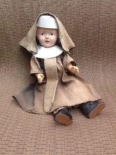 Vintage Roberta Doll Composite Hard Plastic Cloth Doll Nurse Head And Arms Move