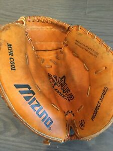 Mizuno MPR C001 Prospect Series Youth Leather Catcher Glove Right Hand Throw