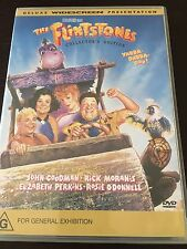 """The Flintstones"" John Goodman, Rick Moranis (DVD, 1994/2003, PAL Reg 4) *VGC*"