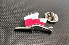 Porsche Pin Silhuette Flagge Polen 28x15mm limitierte Auflage