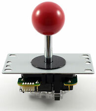 Original Sanwa Jlf-tp-8yt bola superior Arcade Joystick, 4/8 forma (rojo) - Mame, Jamma