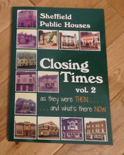 Closing Times Vol 2 Book showing Colour photos of closed Sheffield Public Houses
