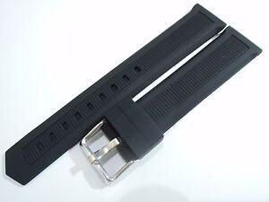 NEW 20MM BLACK RUBBER STRAP FITS TAG HEUER FORMULA 1 MEN'S WATCH
