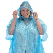 Draper 45841 Disposable Polythene Raincoat/Poncho with Hood