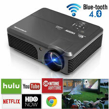 CAIWEI LED Beamer Heimkino Android 1080p Projektor HD HDMI USB Multimedia WIFI