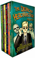 The Demon Headmaster Collection Gillian Cross 6 Books Box Gif Set