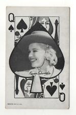 Penny Edwards 1960's Western Aces Exhibit Arcade Card