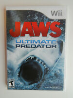 Jaws: Ultimate Predator Game Complete! Nintendo Wii