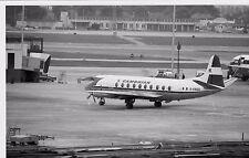 CAMBRIAN AIRWAYS Vickers Viscount Heathrow G-AMOG  - 6x4 inch Print