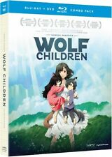 Wolf Children (Blu-ray/DVD Combo), New, Free Shipping