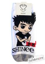 Korean Kpop Band SHINee Cute Animated Character Socks Member Jonghyun