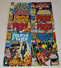 Alpha Flight # 101,102,103,104,105,106,107,108,109,110 (Marvel 1992)   Very Fine