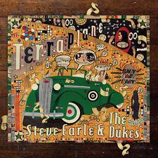 Steve Earle and The Dukes Terraplane LP Vinyl 11 Track With Pic Inner