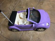 Radio Shack Barbie Volkswagen Beetle, Convertible, Remote Radio Control Missing!