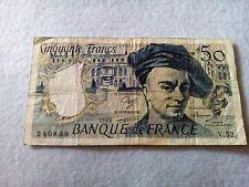 50 France francs 1988 banknote