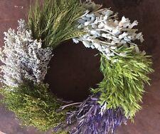 Dried Flower Farmhouse Wreath New