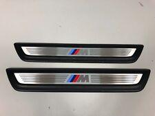BMW X3 F25 X4 F26  M-Pack Door Sill Trim Plates 2 pieces OEM Genuine