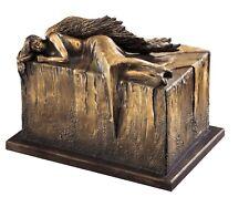UNIQUES artistique Urne de crémation ange au repos enterrement Urne pour adulte