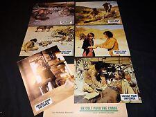 UN COLT POUR UNE CORDE ! gregory peck jeu 12 photos cinema lobby cards western
