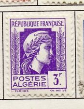 Algeria 1944 Early Issue Fine Mint Hinged 3F. 170612