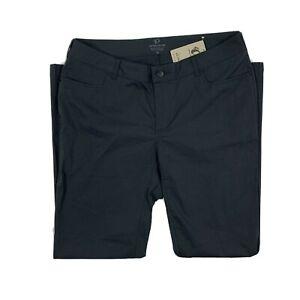 PEARL iZUMi Pants Men's Size 36 x 31 Black Fitted Phantom Rove Biking