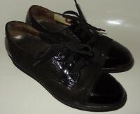 schwarz Damen Schuhe Pumps Spiess Halbschuhe 38-39 G Sneaker 6 Schnürer Leder