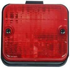 Faro fanale luce retronebbia retro dietro nebbia rosso quadrato compatto