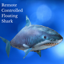Remote Control Floating Flying  RC Shark Clown Fish Toy Balloon Kids Fun Gift
