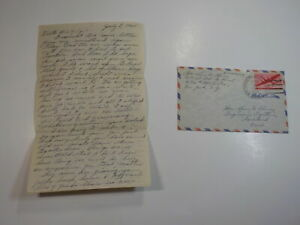WWII Letter 1945 Dachau Concentration Camp Cremation Ovens Shot To Death VTG WW2