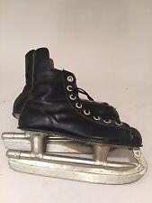 New listing Vintage Canadian Flyer Rally Bobby Orr Nhl Certified Ice Hockey Skates Black