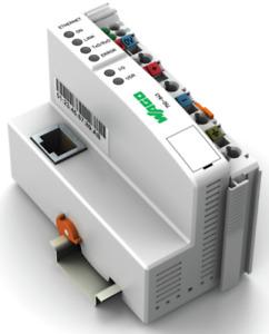 WAGO 750-843 Programmable Fieldbus Controller (PFC) / PLC - Ethernet