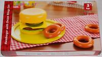 Wooden Hamburger & Onions Set - BNIB - 53019