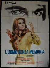manifesto 4FG L'UOMO SENZA MEMORIA MERENDA BERGER ORSINI TESSARI CRUCIANI HORROR