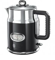 Russell Hobbs 21671-70 Retro Classic Noir Kettle Stainless Steel 2400W Genuine