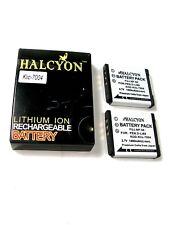 2 New HALCYON 3,7V KLIC-7004 DIGITAL CAMERA BATTERIES--FUJ.NP-50, For PEN.D-L168