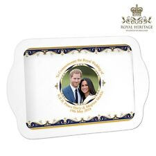 Prince Harry & Meghan Markle Royal Wedding Melamine Snack Tray