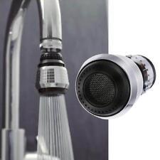 Kitchen Spiral Faucet Bubbler Water Saving Bathroom Shower Head Filter Nozzle