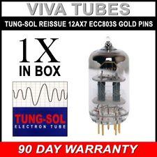 Brand New Tung-Sol Reissue GOLD PIN 12AX7 ECC83 Gain Tested Vacuum Tube