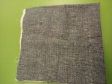 "Lot of Three (3) Random Remnants Denim Weight Cotton Fabric ""Tiny Checks"" Lobber"