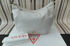 GUESS Genuine Ladies Stunning MARGARET Cream Hobo Tote Shoulder Hand Bag BNWT